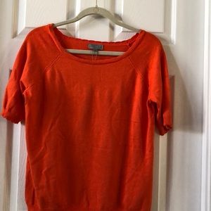 Joseph A Sweater short  sleeve pull over NWOT